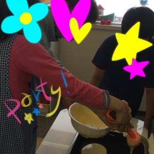 5月12日ホットケーキ④